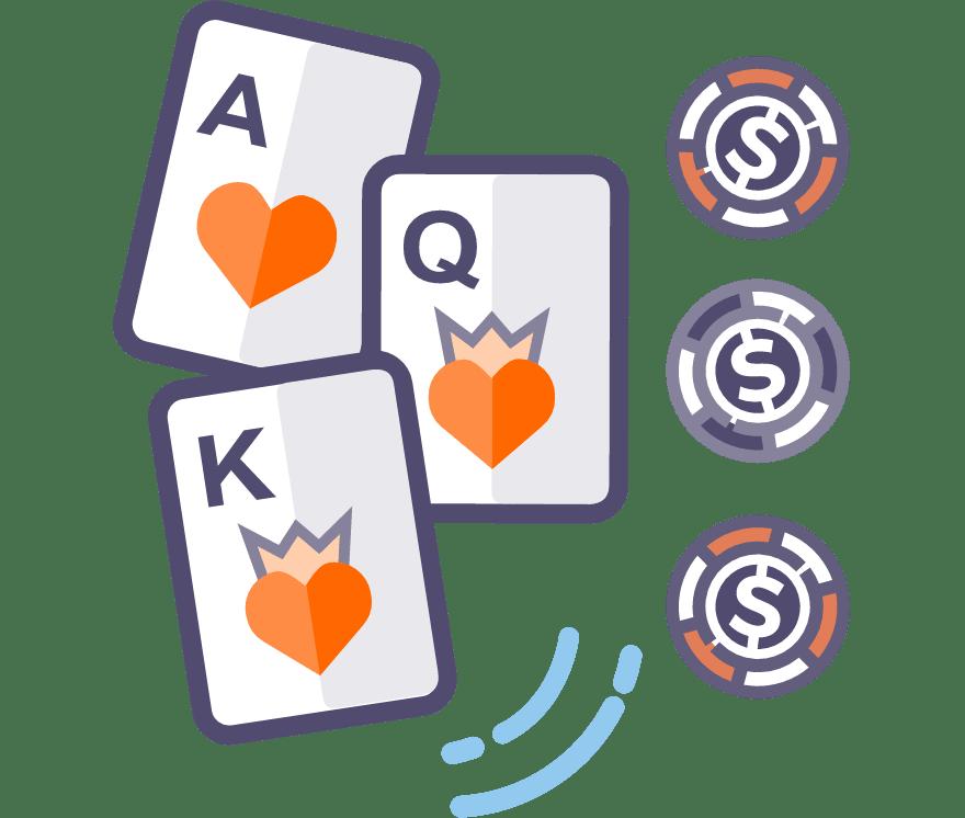 Best 46 Three Card Poker Online Casino in 2021